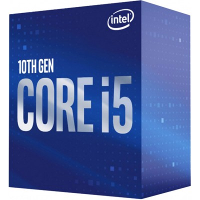 Процесор Core™ i5 10400F (BX8070110400F) s1200, 6 ядер, потоков 12.,  2.9GHz, 4.3GHz, нет, 12Mb, 14nm, 65W, BOX BX8070110400F